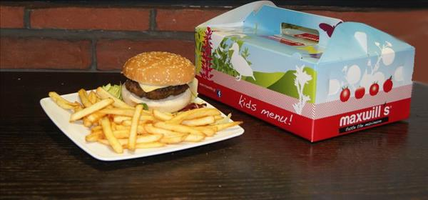 Maxwill`s Pizza Kids Burger